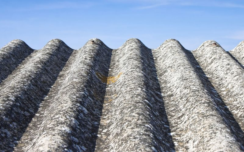 Asbestos roof repairs