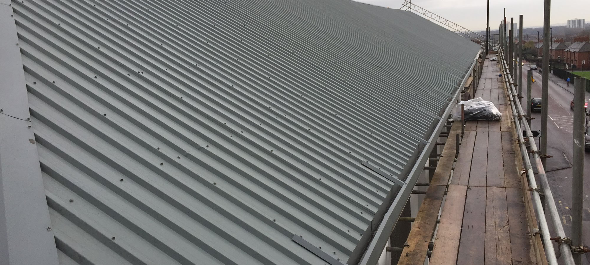 Roofing Installations In Newcastle Upon Tyne Industrial Roofing Services